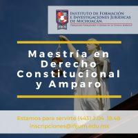 Maestría en Derecho Constitucional y Amparo IFIJUM